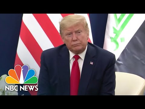 Timeline: Trump's Response To The Coronavirus Outbreak | NBC News NOW