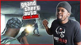 INSANE BACK & FORTH BUNKER BATTLE! - GTA Online Gameplay