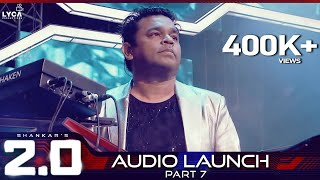 2.0 Audio Launch - Part 7 | Rajinikanth, Akshay Kumar | Shankar | A.R. Rahman