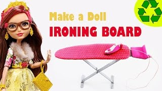 How To Make A Doll Ironing Board: - Easy Doll Crafts - Simplekidscrafts - Simplekidscrafts