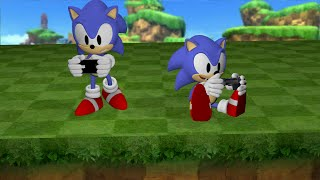 Sonic CD PS3 iPhone comparrason