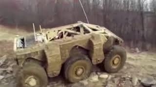 Крашер   Американская тактическая машина робот