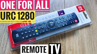 One for All URC1280 Universal Remote Control TV