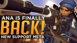 Overwatch: Ana is Finally BACK! - New Support Meta