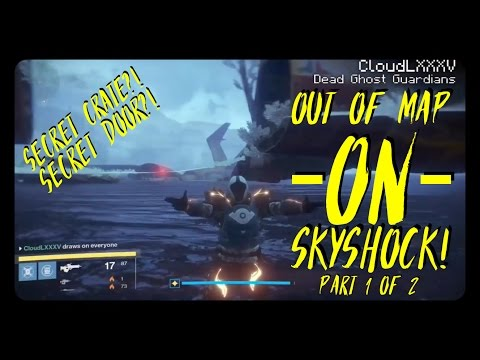 DESTINY Glitches: *NEW* Out Of Map On SKYSHOCK! Crucible PVP & PVE Versions! Part 1 Of 2! Ver: 2.5.0 Mp3