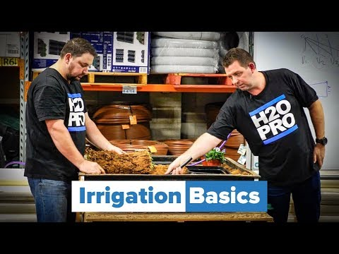 Learn The Basics Of How To Install Irrigation With Waterpro - YouTube