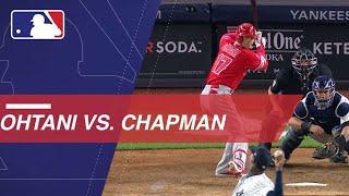 Shohei Ohtani takes on Aroldis Chapman in New York