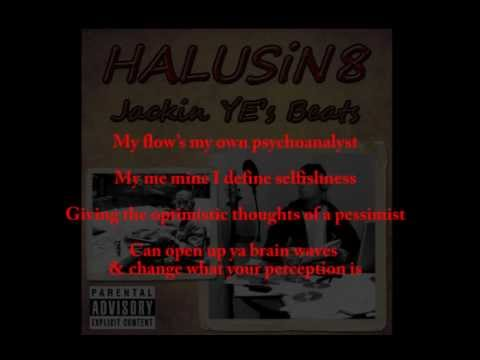 HALUSiN8 - Guess Who's Back remix .. Lyric Video