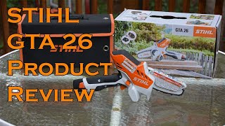 Stihl GTA 26 Battery Powered Garden Pruner Set Review