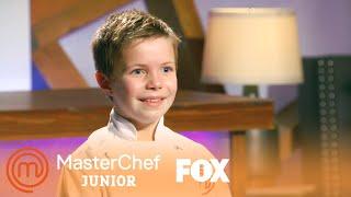 Beni's Dessert Makes Gordon Lick His Plate Clean | Season 6 Ep. 15 | MASTERCHEF JUNIOR