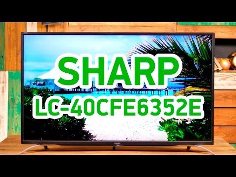 Sharp LC-40CFE6352E - умный телевизор с качественным изображением - Видео демонстрация