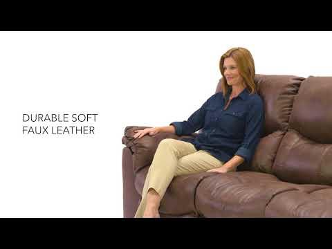 Alzena 7140087 Gunsmoke Reclining Power Sofa