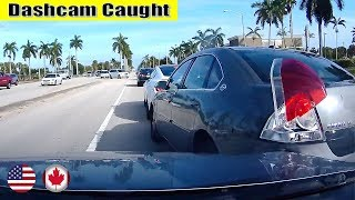 Ultimate North American Cars Driving Fails Compilation - 148 [Dash Cam Caught Video]