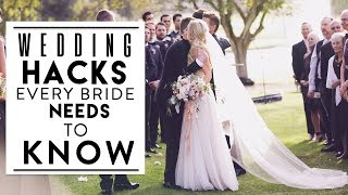WATCH THIS BEFORE YOU PLAN YOUR WEDDING! | Hacks Every Bride Needs to Know