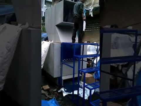 HDPE Blue Drum Shredder
