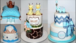 Cake Decorating Tutorials | BABY SHOWER CAKE COMPILATION PART 2 | Sugarella Sweets