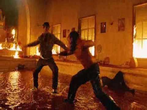 Tony Jaa - Muay Boran Vs. Lateef Crowder - Capoeira