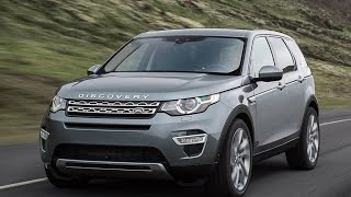 Тест-ДРайв Land Rover Discovery Sport 2