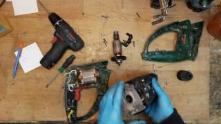 Bosch PBH 3000-2 FRE diagnostic disassemble