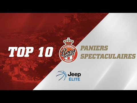 Top 10 Paniers spectaculaires Jeep ELITE