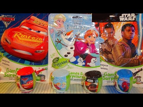 Disney Frozen - Cars 3 - Star Wars & Spider-Man Surprise Bag + Eggs - Games & Toys At Christmas 2018