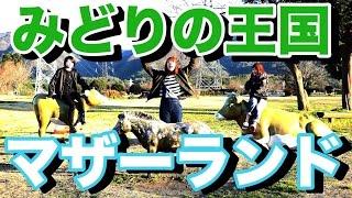 """""""みどりの王国""""マザーランド大分県の穴場的スポット!"""