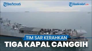 Tim SAR Kerahkan 3 Kapal Pendeteksi Bawah Air, Optimalkan Pencarian Puing dan Korban Sriwijaya Air