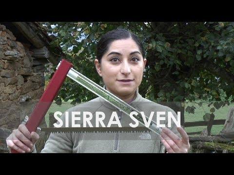 Sierra de arco plegable Sven saw para bushcraft, supervivencia, camping o 4x4