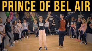 PRINCE OF BEL AIR - Will Smith ★ Beginner Hip Hop Class | TanzAlex