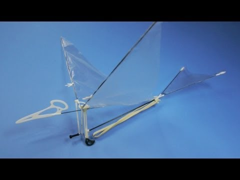 How to make Ornithopter Pteranodon Kit.