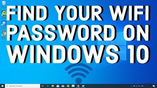 How to Find your WiFi Password on Windows 10