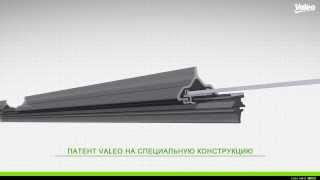 Откройте новую технологию плоской щетки Valeo Pyramid™