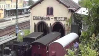 preview picture of video 'Neustadt an der Weinstraße Eisenbahn Alltag'
