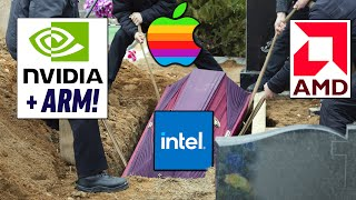 Nvidia SADECE İşi BİTİRMEK için nasıl geldi (R.I.P. Intel)