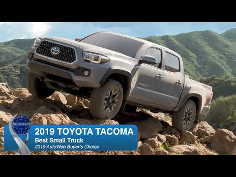 2019 Toyota Tacoma Wins AutoWeb Buyer