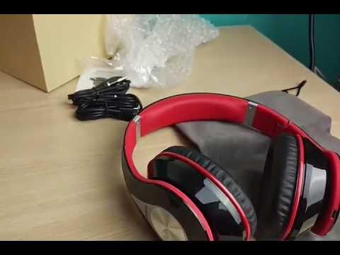 Auriculares Diadema Bluetooth Auriculares Bluetooth Plegable Inalámbrico Mpow, preciosos y suenan mu