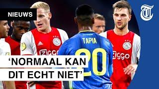 Aartsrivalen Ajax en Feyenoord hand in hand door corona