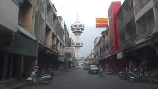 preview picture of video 'Street view Banharn-Jamsai Tower, Suphanburi, Thailand'
