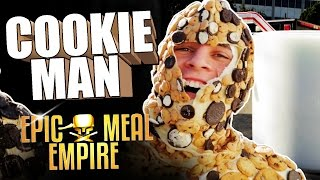 How To Eat Cookies and Milk feat. Cookie Man (Marcus Johns) – Epic Meal Empire
