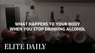 Effects On The Body After Quitting Alcohol