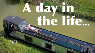 A Day In The Life of a Narrowboat Liveaboard During Lockdown