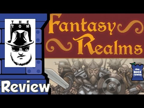 Fantasy Realms Review - with Tom Vasel
