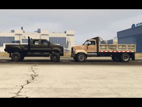 GTA 5 - TUG OF WAR