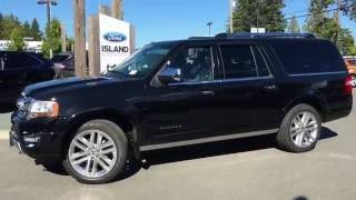 2017 Ford Expedition Platinum 4X4 +Voice Activated Navigation Review  Island Ford