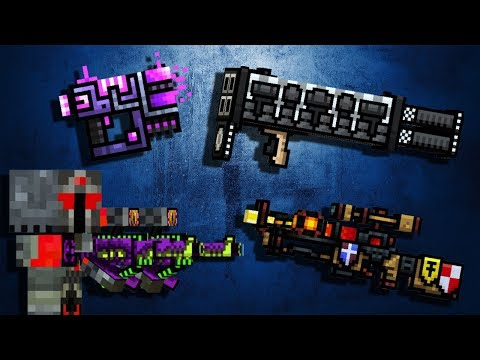 Weapons with Skins #6 - Pixel Gun 3D Gameplay