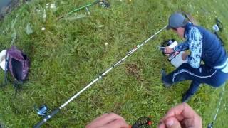 Удочку для ловля окуня летом на поплавочную