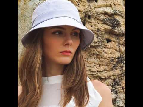 SIGGI linen Sun Hat for Women