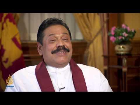 Mahinda  Rajapaksa: 'This is all propaganda'   Talk to Al Jazeera