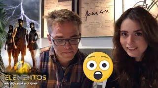 Marifer Centeno analiza las firmas de los participantes   Reto 4 Elementos, segunda temporada