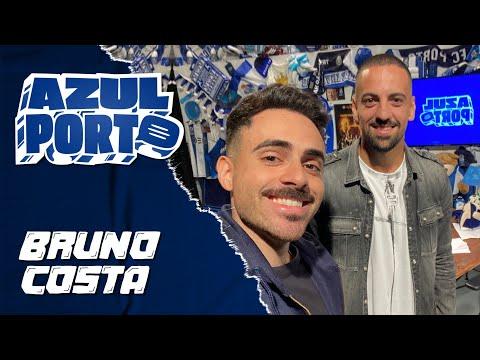 """""""Azul Porto"""" com Bruno Costa 🔵⚪"""